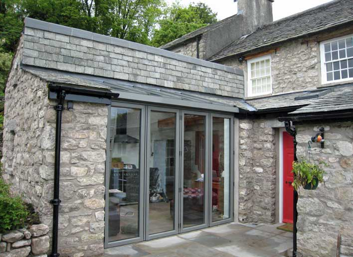 Photo After We Built an Extension by Gordon Smith Architect