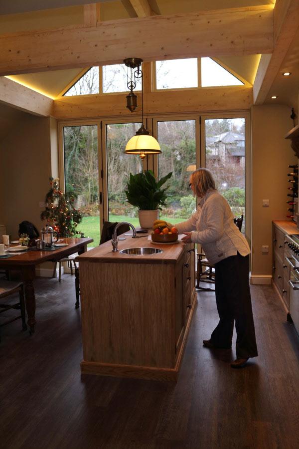 kitchen extension Cumbria
